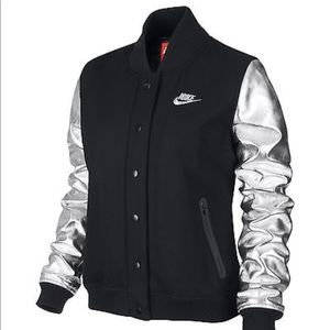Rare Nike Destroyer Varsity Jacket Metallic